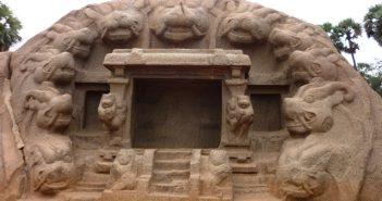 Tiger Caves - Mahabalipuram