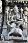 Lord Shiva killing demon Elephant