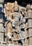 Shiva with Nandi and Naga in hand