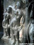 Ganikas with Dwarpal