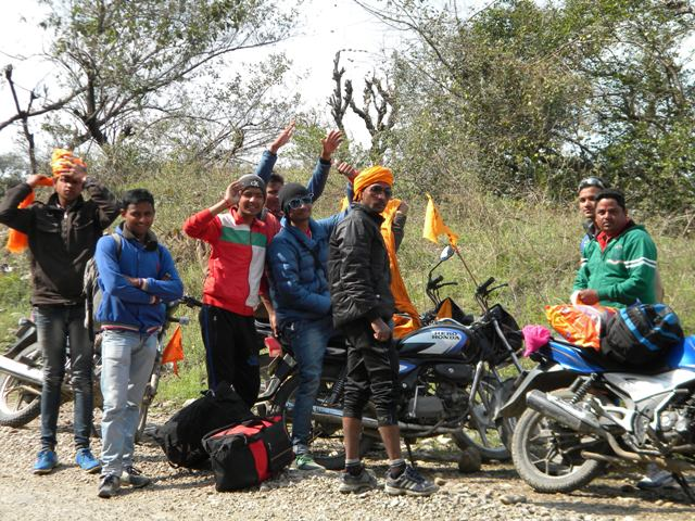 Riders at Chintpurni