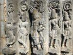 Sculpture on the pillars