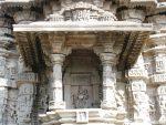 Chamunda Devi niche