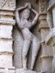 Apsara in dancing pose
