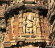Ganesha with Riddhi and Siddhi