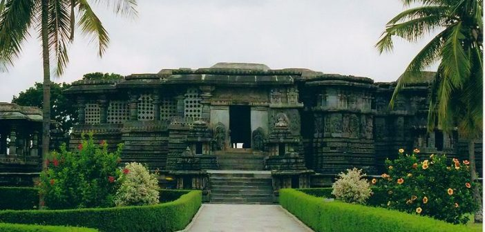 Hoysaleshwara Temple at Halebidu