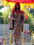 Jijamata Statue in garden