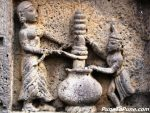 Krishna Leela : Krishna with mother Yashoda