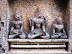 Ramayana - Laxman, Ram & Sita (from left)