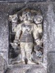 Bhairava on the Shiva's entrance