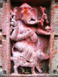 Ganesha on his mount - the Mushaka (mouse)