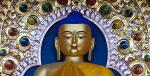 The Buddha at the Dalai Lama temple