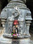 Goddess on the pillar