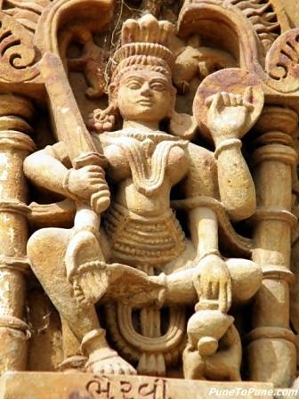 Bhairavi - Ashta Matrika of Shamlaji