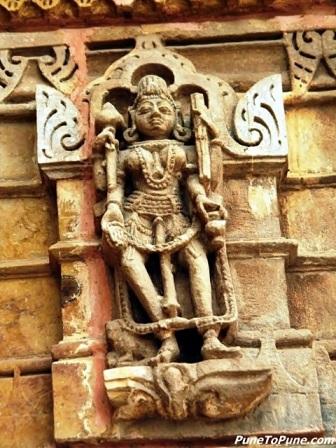 Chamunda - Ashta Matrika of Shamlaji