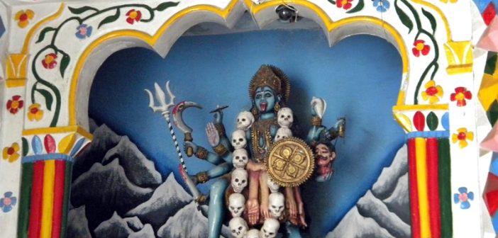Devi Kali on the Entrance
