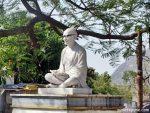 Gandhi Statue at Pushkar
