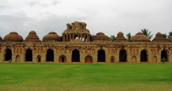 Elephant's Stable – Hampi