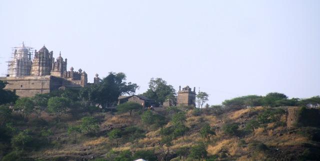 Bhuleshwar Temple on Daulat-Mangal Fort - Pune