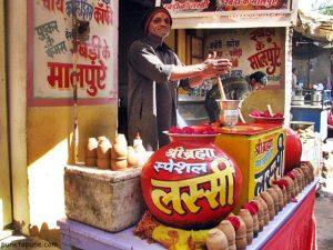Lassiwala at Pushkar
