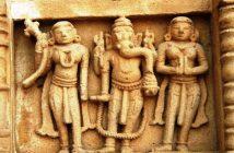 Lord Ganesha with Riddhi and Siddhi