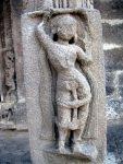 Apsara on the temple pillar