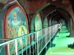 Corridor in the temple with Mythological paintings