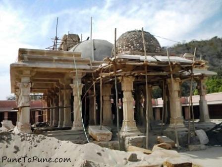 Renovation at Shamlaji