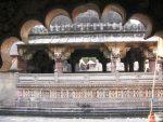 Shiva temple from the corridor
