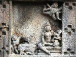 Krishna Leela : Radha Krishna & flying Garuda