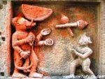 Vishnu-Avatar : Varaha (fighting with demon Hiranyaksha)