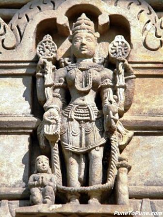 Vaishnavi - Ashta Matrika of Shamlaji
