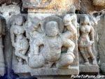 Pillar lifting Gandharva